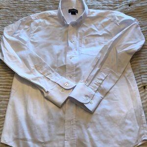Chaps White Button Down Dress Shirt
